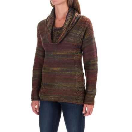 Royal Robbins Sophia Sweater - Cowl Neck (For Women) in Spruce - Closeouts