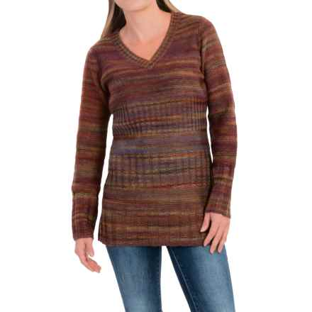 Royal Robbins Sophia V-Neck Sweater (For Women) in Dark Shadow - Closeouts