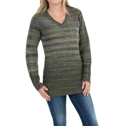 Royal Robbins Sophia V-Neck Sweater (For Women) in Granite - Closeouts