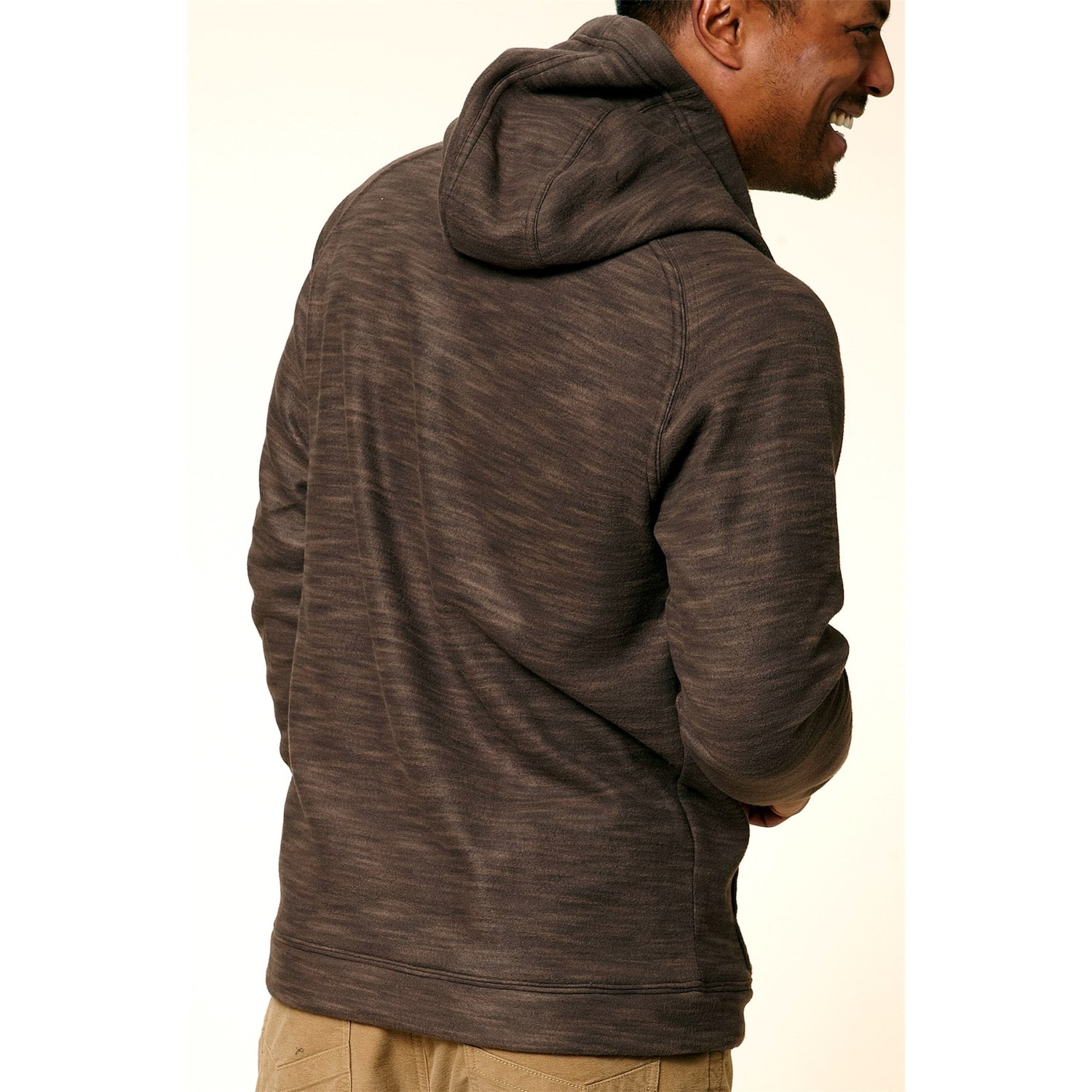 Royal robbins space dyed fleece hoodie for men 8363y for Space fleece fabric