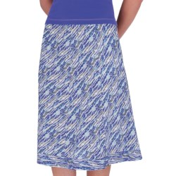 Royal Robbins Stained Glass Skirt - Slub Summer Cloth (For Women) in Nile Blue