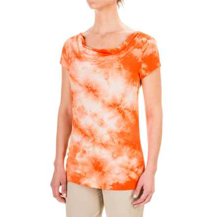 Royal Robbins Stargazer Tie-Dye Shirt - Short Sleeve (For Women) in Mai Tai - Closeouts