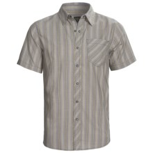 Royal Robbins Stinson Stripe Shirt - Short Sleeve (For Men) in Light Silver - Closeouts