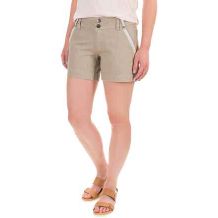 Royal Robbins Strider Shorts - UPF 50+ (For Women) in Eucalyptus - Closeouts