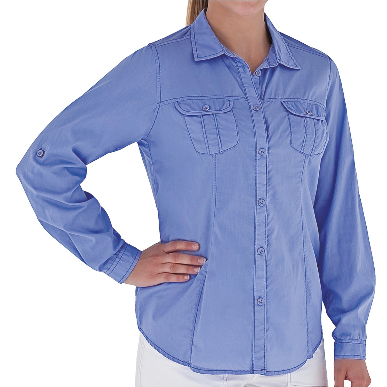 Royal robbins summer camp shirt long sleeve for women for Women s long sleeve camp shirts