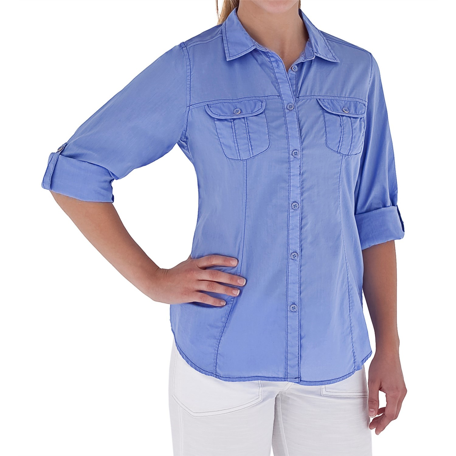 Royal robbins summer camp shirt for women 6293w save 78 for Women s long sleeve camp shirts