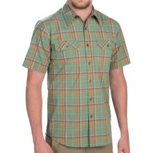 Royal Robbins Summertime Plaid Shirt - Button Front, Short Sleeve (For Men) in Celery - Closeouts