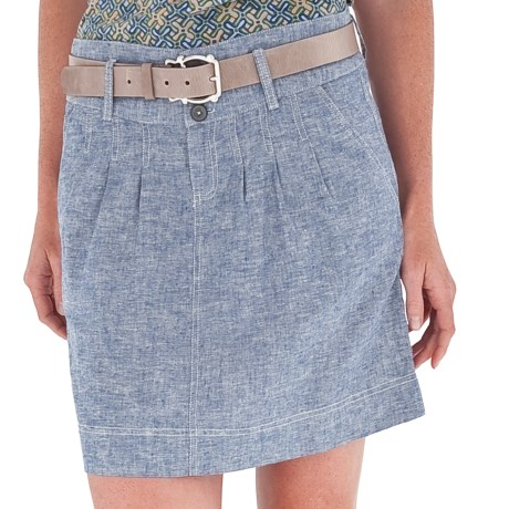 Royal Robbins Summertime Skirt - Hemp-Organic Cotton (For Women) in Night Sky