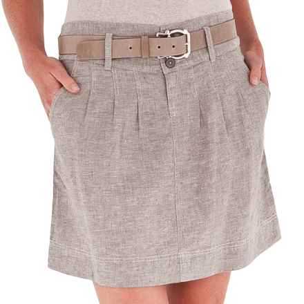 Royal Robbins Summertime Skirt - Hemp-Organic Cotton (For Women) in Taupe - Closeouts