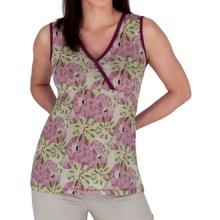 Royal Robbins Tadmor Jersey Tank Top - Organic Cotton (For Women) in Berry - Closeouts