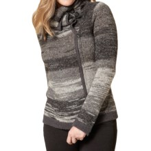 Royal Robbins Tambo Cardigan Sweater - Shawl Collar, Zip Front (For Women) in Charcoal - Closeouts