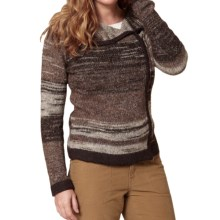 Royal Robbins Tambo Cardigan Sweater - Shawl Collar, Zip Front (For Women) in Espresso - Closeouts
