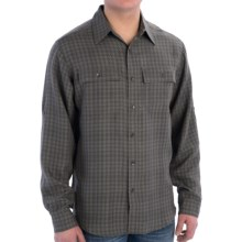 Royal Robbins Teton Shirt - Long Sleeve (For Men) in Thunder - Closeouts