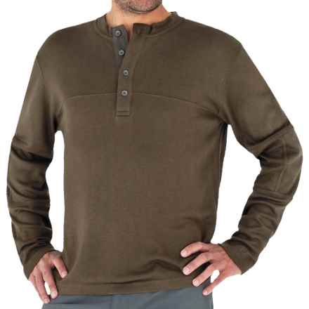 Royal Robbins The Duke Henley Shirt - UPF 25+, Long Sleeve (For Men) in Timber - Closeouts
