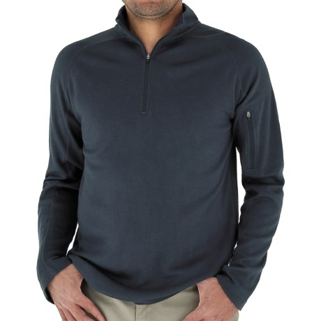 Royal Robbins The Duke Sweater - UPF 50+, Zip Neck, Long Sleeve (For Men) in Dark Pewter