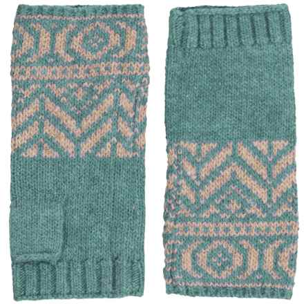Royal Robbins Three Seasons Fingerless Mittens (For Women) in Aquarius - Closeouts
