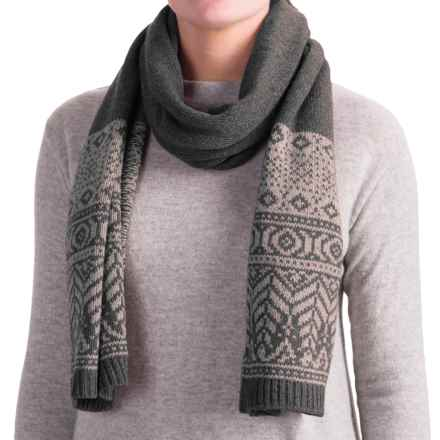 Royal Robbins Three-Seasons Scarf (For Women) in Charcoal - Closeouts