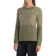 Royal Robbins Three Seasons Sweater - Crew Neck (For Women) in Aloe - Closeouts