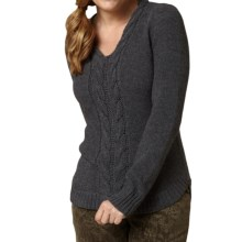 Royal Robbins Three Seasons Sweater (For Women) in Charcoal - Closeouts