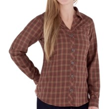 Royal Robbins Ticaboo Plaid Shirt - UPF 35+, Long Sleeve (For Women) in Rosewood - Closeouts