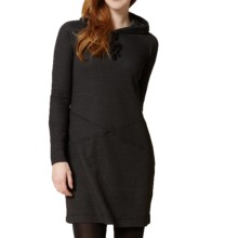 Royal Robbins Torrey Dress - Thermal Waffle Knit, Long Sleeve (For Women) in Jet Black - Closeouts