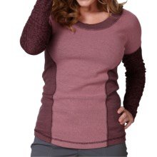 Royal Robbins Torrey Thermal Blend Shirt - Long Sleeve (For Women) in Blackberry - Closeouts
