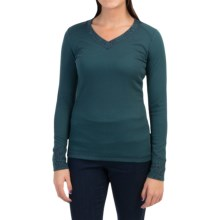 Royal Robbins Torrey Thermal Shirt - V-Neck, Long Sleeve (For Women) in Eclipse - Closeouts