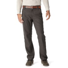 Royal Robbins Townsend Flannel Pants - UPF 50+ (For Men) in Charcoal - Closeouts