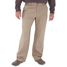 Royal Robbins Trail Chino Pants - UPF 50+ (For Men) in Kahki - Closeouts