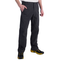 Royal Robbins Trail Traveler Pants - UPF 50+ (For Men) in Charcoal