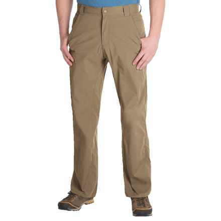 Royal Robbins Traveler Stretch Pants - UPF 50+ (For Men) in Burro - Closeouts