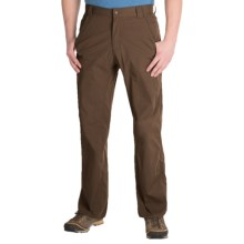 Royal Robbins Traveler Stretch Pants - UPF 50+ (For Men) in Turkish Coffee - Closeouts