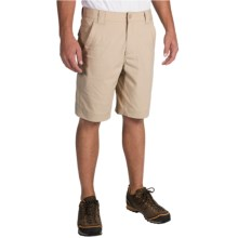 Royal Robbins Traveler Stretch Shorts (For Men) in Light Khaki - Closeouts