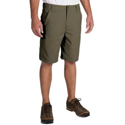 Royal Robbins Traveler Stretch Shorts (For Men) in Light Olive - Closeouts