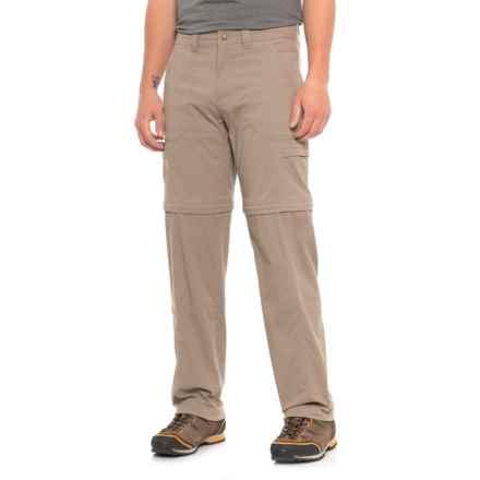 Royal Robbins Traveler Zip N' Go Convertible Pants - UPF 50+ (For Men) in Driftwood - Closeouts