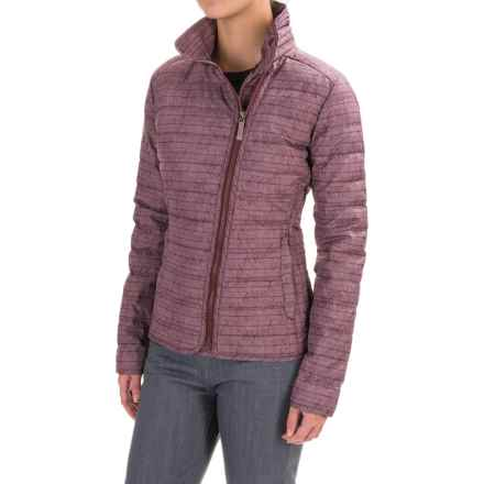 Royal Robbins Trinity Down Jacket - UPF 50+, 650 FP (For Women) in Blackberry - Closeouts