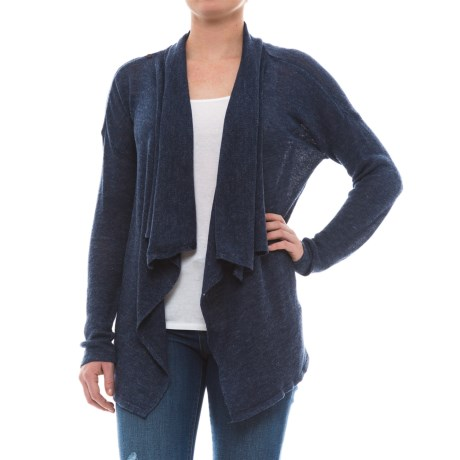 Royal Robbins Tupelo Falls Cardigan Sweater - Open Front (For Women) in Deep Blue