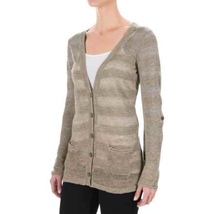 Royal Robbins Tupelo Knit Cardigan Sweater (For Women) in Creme - Closeouts