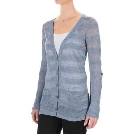 Royal Robbins Tupelo Knit Cardigan Sweater (For Women) in Light Indigo - Closeouts