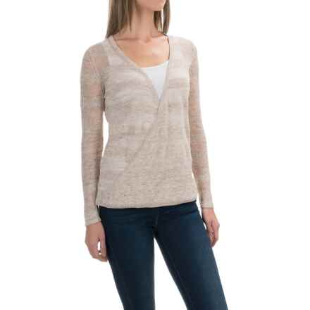 Royal Robbins Tupelo Twist Pullover Sweater - Linen (For Women) in Creme - Closeouts