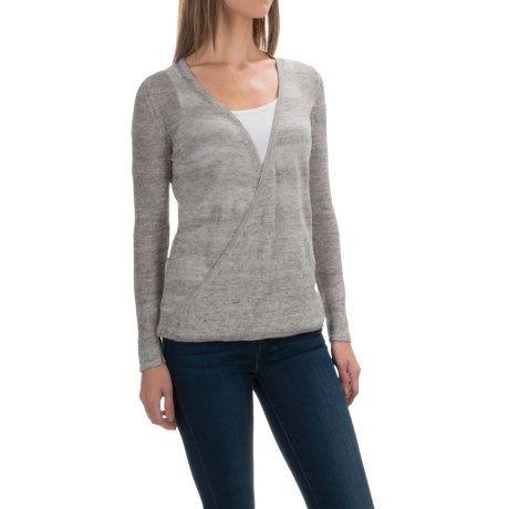 Royal Robbins Tupelo Twist Sweater - Linen (For Women) in Light Charcoal