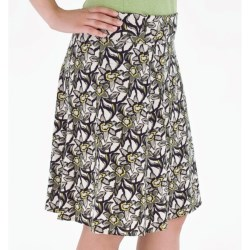Royal Robbins Urban Garden Skirt - UPF 50+, Stretch Jersey (For Women) in Spearmint