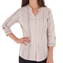 Royal Robbins Venture Shirt - UPF 50+, 3/4 Sleeve (For Women) in Wild Rose - Closeouts