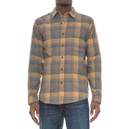 Royal Robbins Vintage Performance Plaid Flannel Shirt - UPF 50+, Long Sleeve (For Men) in Earth - Overstock