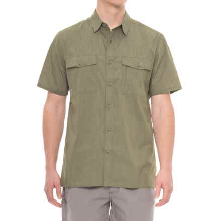 Royal Robbins Vista Chill Shirt - Short Sleeve (For Men) in Olivine - Closeouts