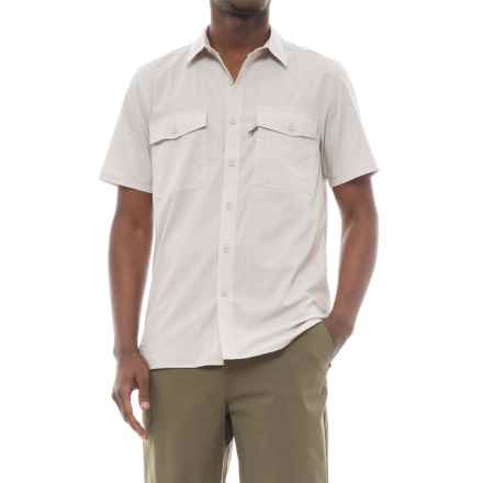 Royal Robbins Vista Chill Shirt - Short Sleeve (For Men) in Soapstone - Closeouts
