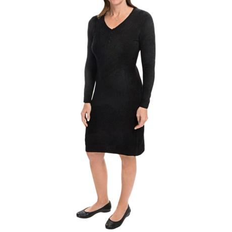 Royal Robbins Voyage Dress - Long Sleeve (For Women) in Jet Black
