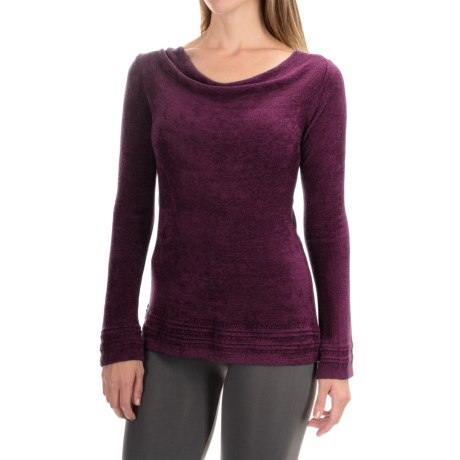 Royal Robbins Voyage Sweater - Cowl Neck  (For Women) in Blackberry