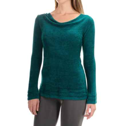 Royal Robbins Voyage Sweater - Cowl Neck  (For Women) in Deep Teal - Closeouts