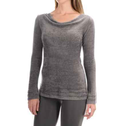 Royal Robbins Voyage Sweater - Cowl Neck  (For Women) in Pewter - Closeouts